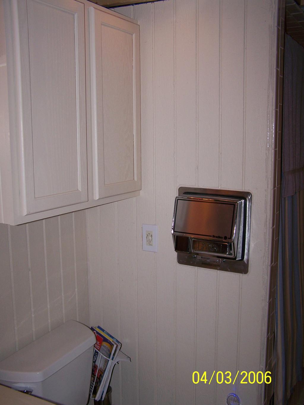 Full bathroom install for Full bathroom installation